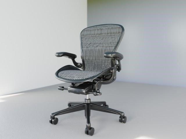 Aeron chair - Leicht Deutsch Lernen